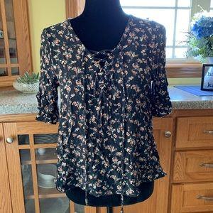 American eagle boho blouse